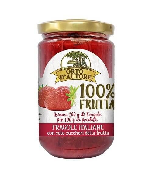 Preparato di fragole italiane