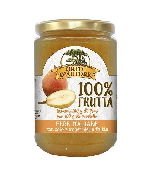 Preparato di pere italiane