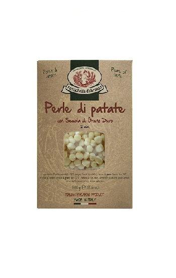 Perle di Patate con semola di grano duro