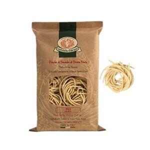 Pici of durum wheat semolina