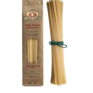 Spaghettoni del Leone made with durum wheat semolina